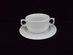 1259 soup cup&saucer  31cl