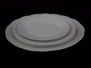 1276 oval platter l=37, l=28, l=24
