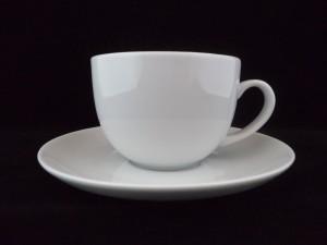 1284 tea cup & saucer 22cl