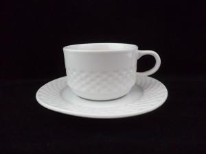 1292 breakfast cup saucer 23cl