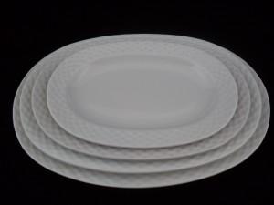 1292 oval platters l=35, l=32, l=28.5, l=24.5