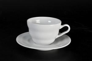 1305 tea cup and saucer d=9, 22cl; d=15