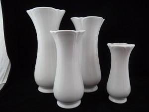 13101 vase h=28, h=25, h=21, h=17